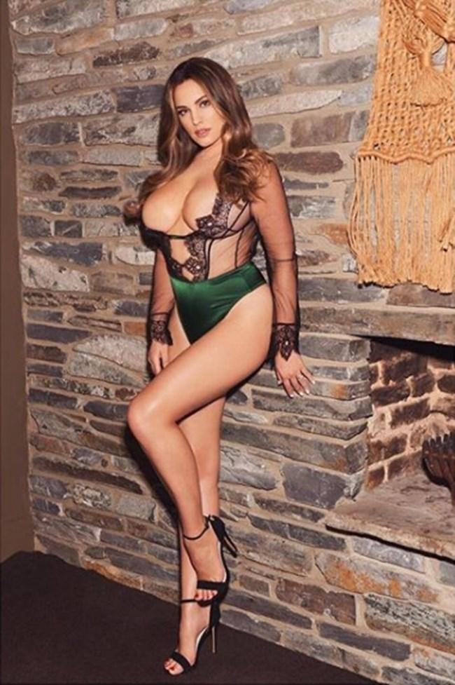 Кели Брук има научно най-красивото женско тяло в света. СНИМКИ: Инстаграм/iamkb