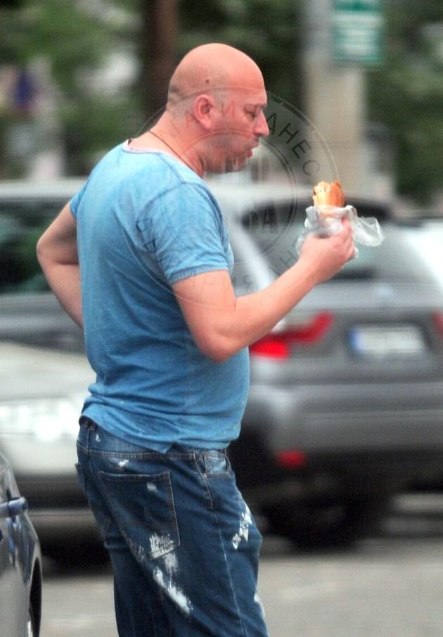 Актьор хапва милинка