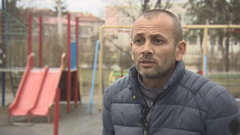Бащата на детето Найден Иванов. Кадър Би Ти Ви