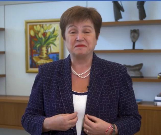 Кристалина Георгиева, МВФ: Рецесията ще е толкова тежка, колкото преди 10 г., 2021 г. ще има възстановяване