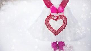 Бяла зимна мода