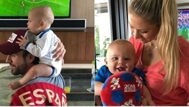 Ана Курникова роди трето дете на Енрике Иглесиас