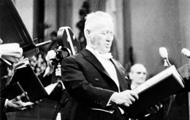 Шолохов е изборът на академиците през 1965 г., когато и тя е в списъците.