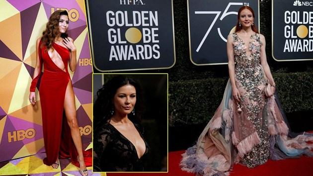 """Най-зле облечените звезди на наградите """"Златен глобус"""" (Снимки)"""