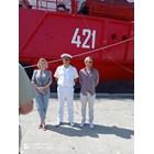 Мария Бакалова във Варна, кръщава научноизследователския кораб (ВИДЕО/НА ЖИВО)