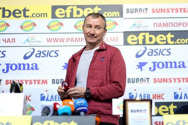 Стамен Белчев: ЦСКА има европейско лице