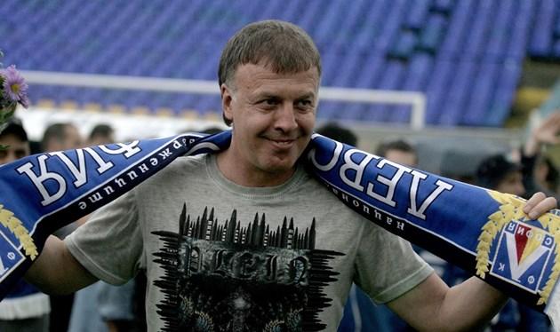 Наско Сираков: Благодаря на левскарите и Васил Божков