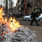 Стотици арести в Нидерландия след протестите срещу новите мерките на правителството (Фотогалерия)