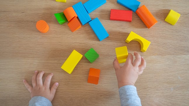 Въведете образователни играчки след третата годинка