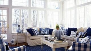 Как да съчетаваме красиво цветовете у дома (галерия)