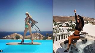 От Кейт Хъдсън до Нина Добрев - всички почиват на този остров (снимки)