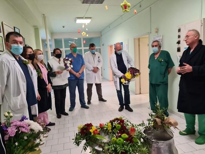 Само до обяд в УМБАЛ Бургас са се родили четири бебета.
