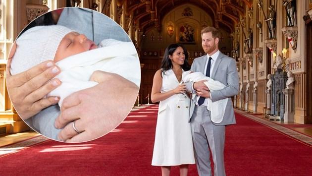 Меган и Хари показаха бебето (Снимки)