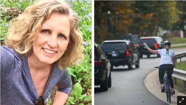 Жена, уволнена заради неприличен жест срещу кортежа на Тръмп победи на местни избори в САЩ