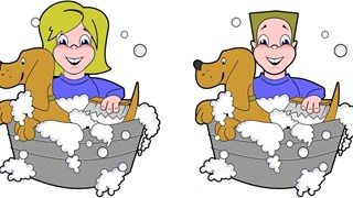 Кучешки хитрини за избягване на банята (Видео)
