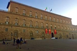 Палацо Пити във Флоренция бил резиденцията на Медичите. СНИМКА: АВТОРЪТ