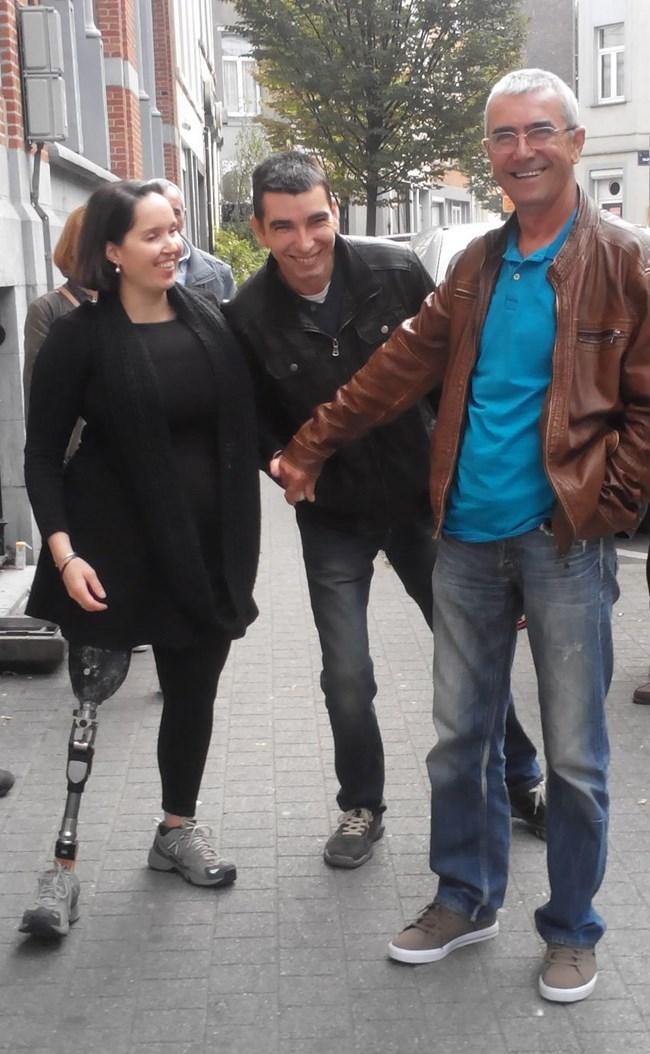 Елица с баща си Мехмед и брат си Руфи, за когото дори не подозираше.