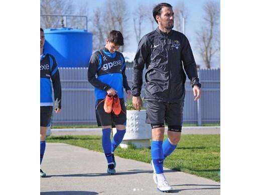 След почти 8 месеца Ивелин Попов отново тренира в Русия