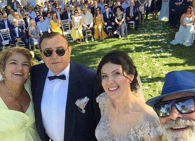 Арт елитът на сватбата на Николай Вълканов