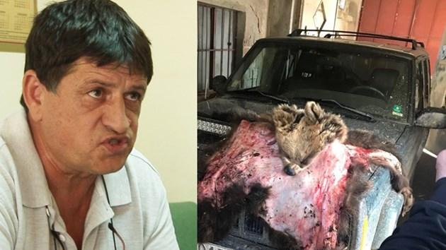 Гълъбовъд признава за оръжия и убита мечка