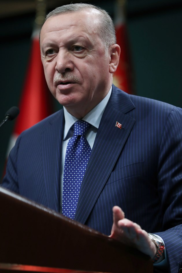 Ердоган иска лихвите да бъдат сведени до едноцифрено число