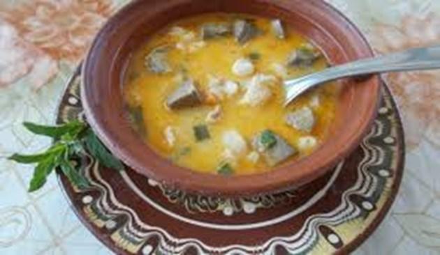 Селска супа с агнешко