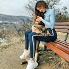 Райна с ново куче