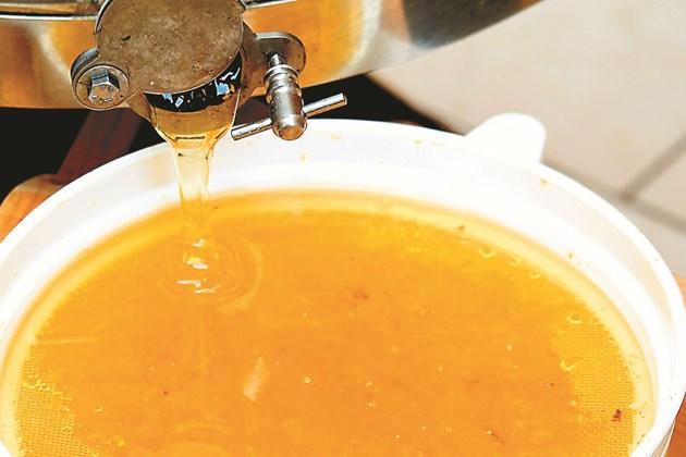 Добивите на мед от 1 дка с аморфа са 86 кг