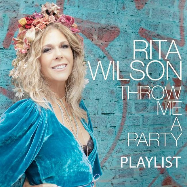 Рита Уилсън на обложката на новия си албум