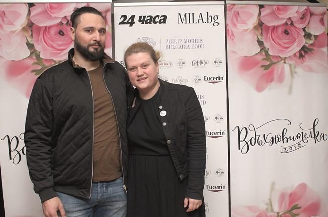 Дара Борисова със съпруга си
