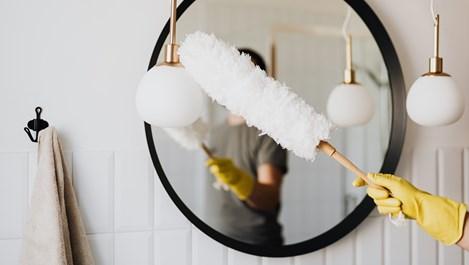 Използвайте метода 20/10, за да почиствате дома си