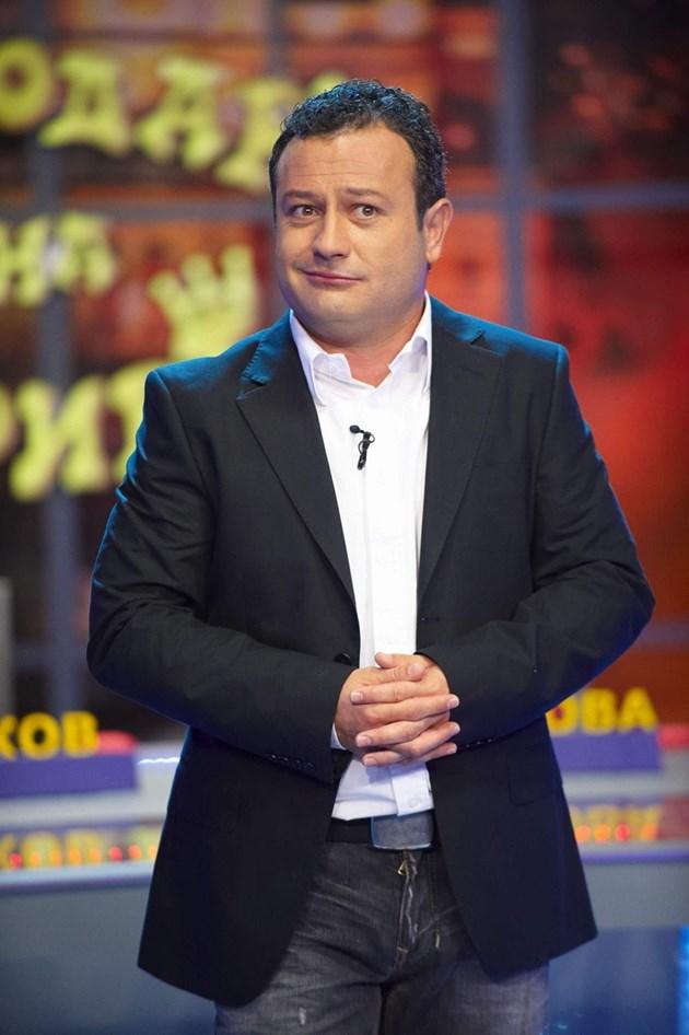 Бъркат Рачков с Краси Радков