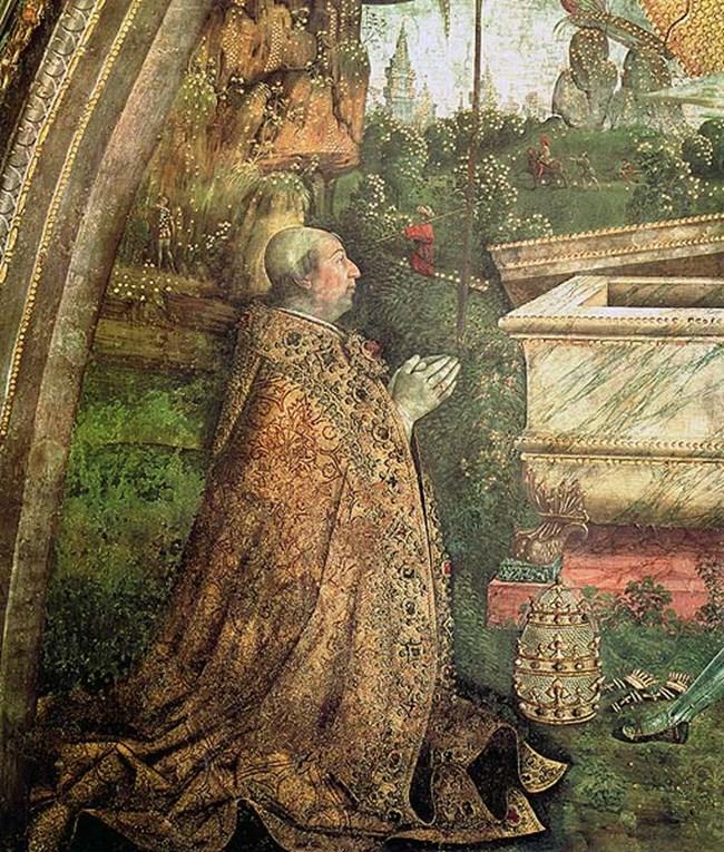 Папа Александър VI, нарисуван от Пинтурикио