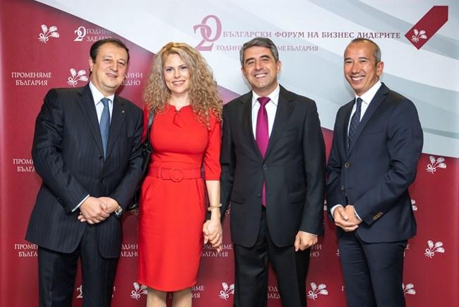 Младото семейство на 20-годишния юбилей на Българския форум на бизнес лидерите