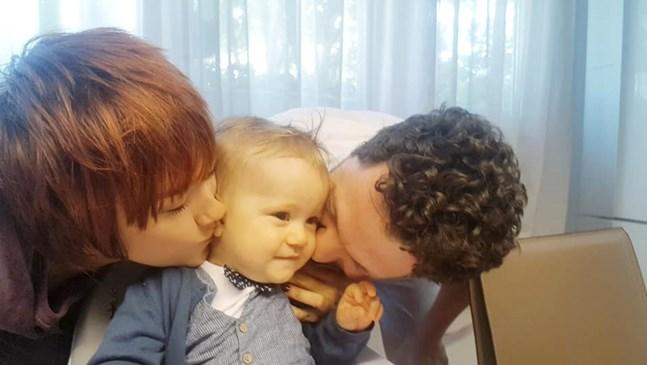 Детето на Биляна Петринска навърши 1 годинка