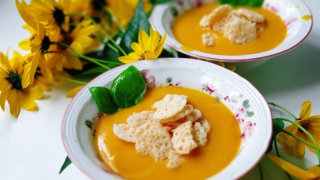 Тиквена супа с джинджифил