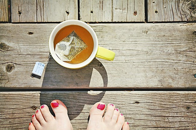 Пакетчето за чай има много приложения, след като чаят ви е готов.