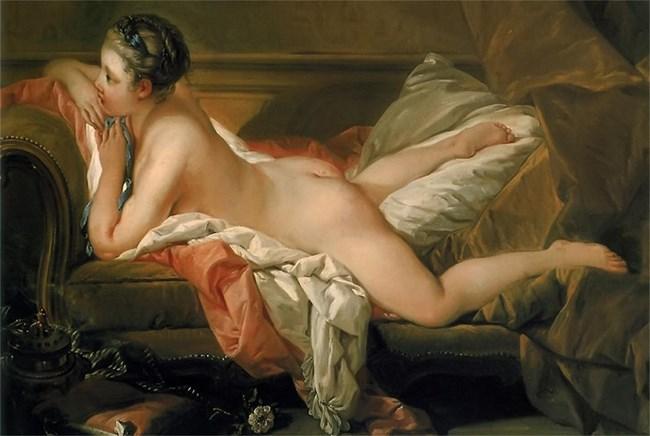 "Франсоа Буше, ""Мадмоазел О'Мърфи"", 1752 г."