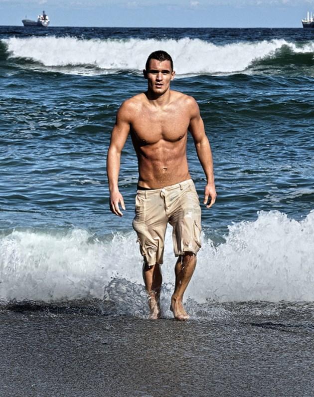 Откривателят на Бакалова в плувно състезание