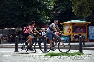 """Все по-често цели семейства карат велосипед в столицата.  СНИМКА: """"24 ЧАСА"""""""