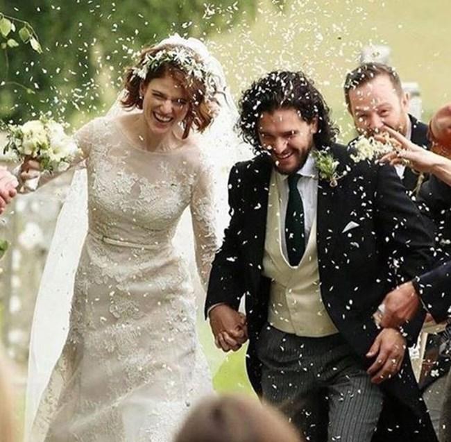 Лесли Роуз и Кит Харингтън станаха двойка и в живота СНИМКА: инстаграм/kitharingtonn/