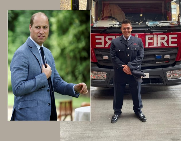 Пенчев е пожарникар в централен Лондон