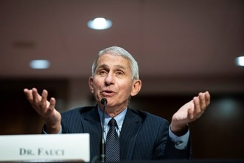 Главният американски експерт по инфекциозни болести д-р Антъни Фаучи СНИМКА: Ройтерс