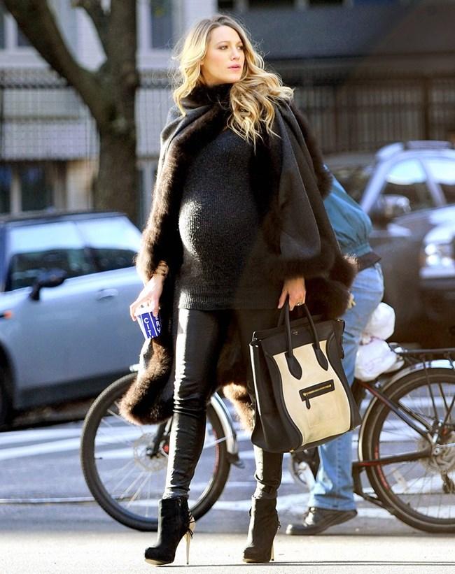 Актрисата Блейк  Лайвли определено можеше да бъде отличена като една от най-стилните бъдещи майки на Холивуд.