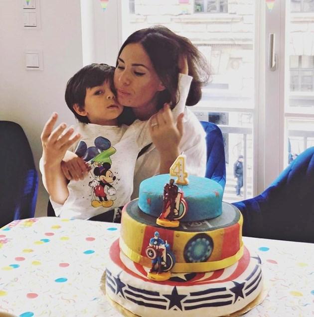 Соня Йончева празнува рожден ден на сина си