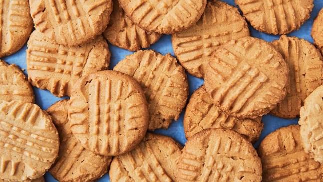 Здравословни фъстъчени бисквитки