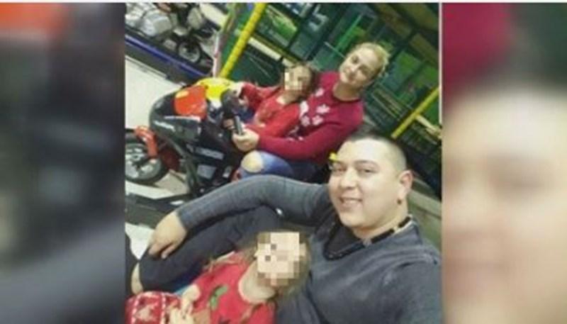 Семейството на починалата Селин преди трагедията  СНИМКА: БИ ТИ ВИ