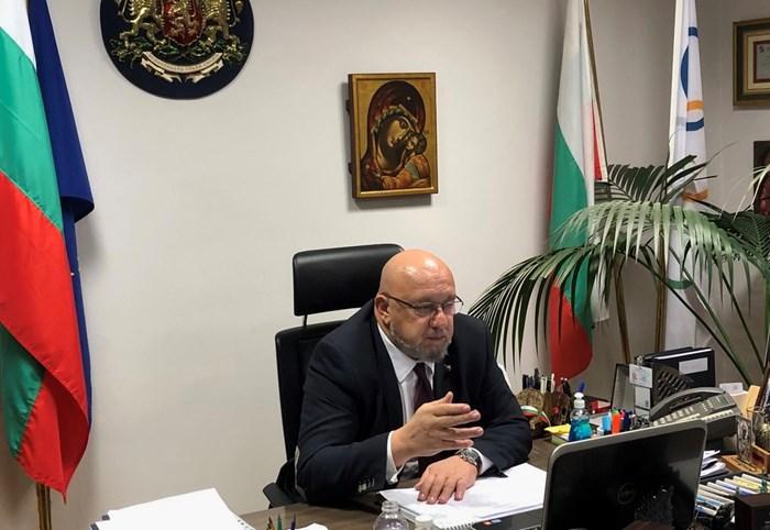 СНИМКА: Пресцентър на Министерство на младежта и спорта