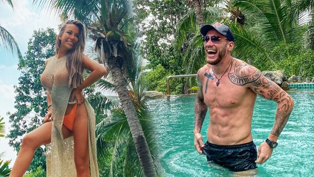 Гери Никол с тайно гадже в Тайланд