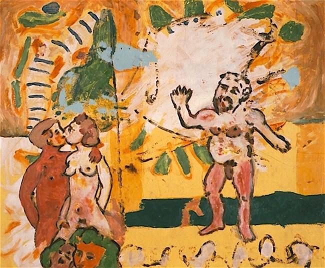 Кипърският художник Стас Параскос вижда ритуалите в Куклия като триумф на сексуалния импулс.